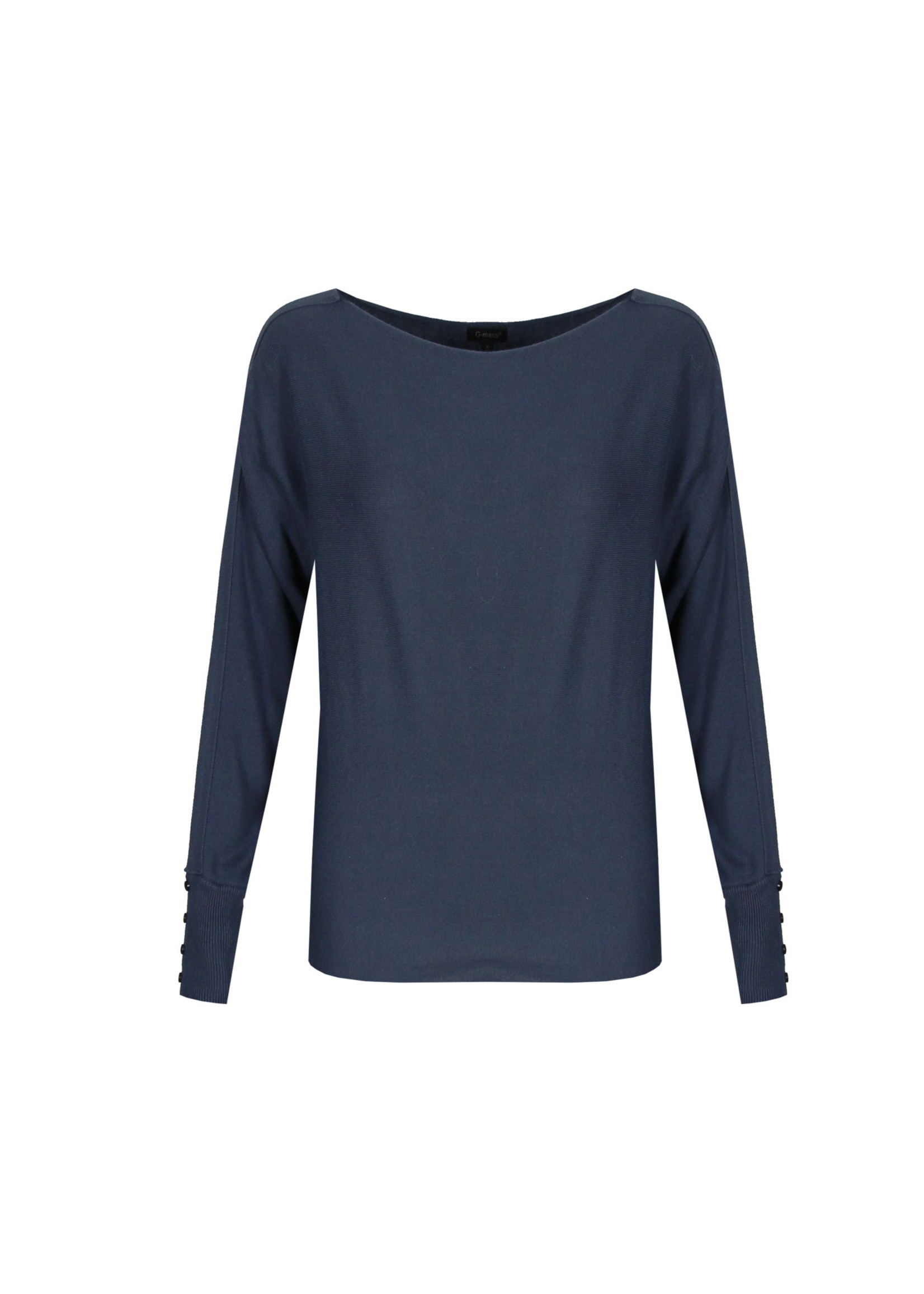 G-Maxx G-maxx - Dalia trui - Jeansblauw