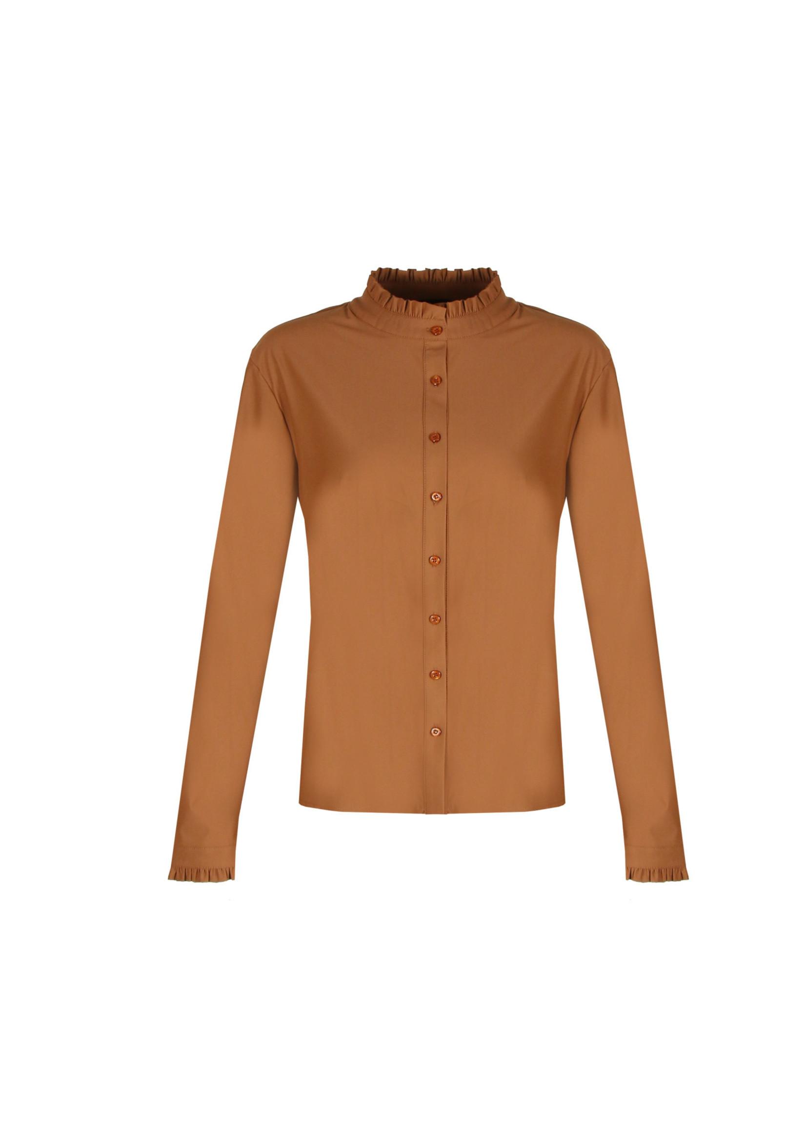 G-Maxx G-maxx - Ceylin blouse - Cognac