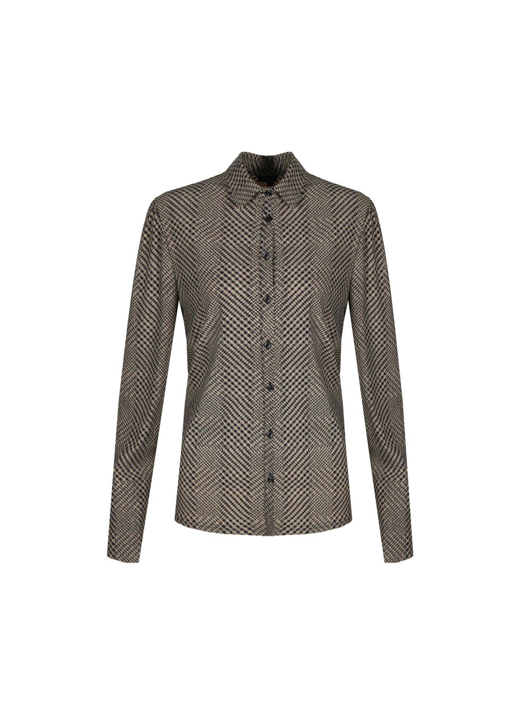 G-Maxx G-maxx - Kyla blouse - zwart/sahara