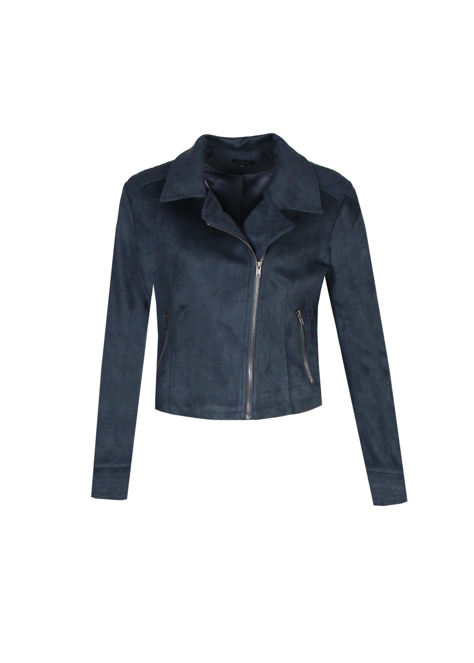 G-Maxx G-maxx - Annelies jacket - jeansblauw