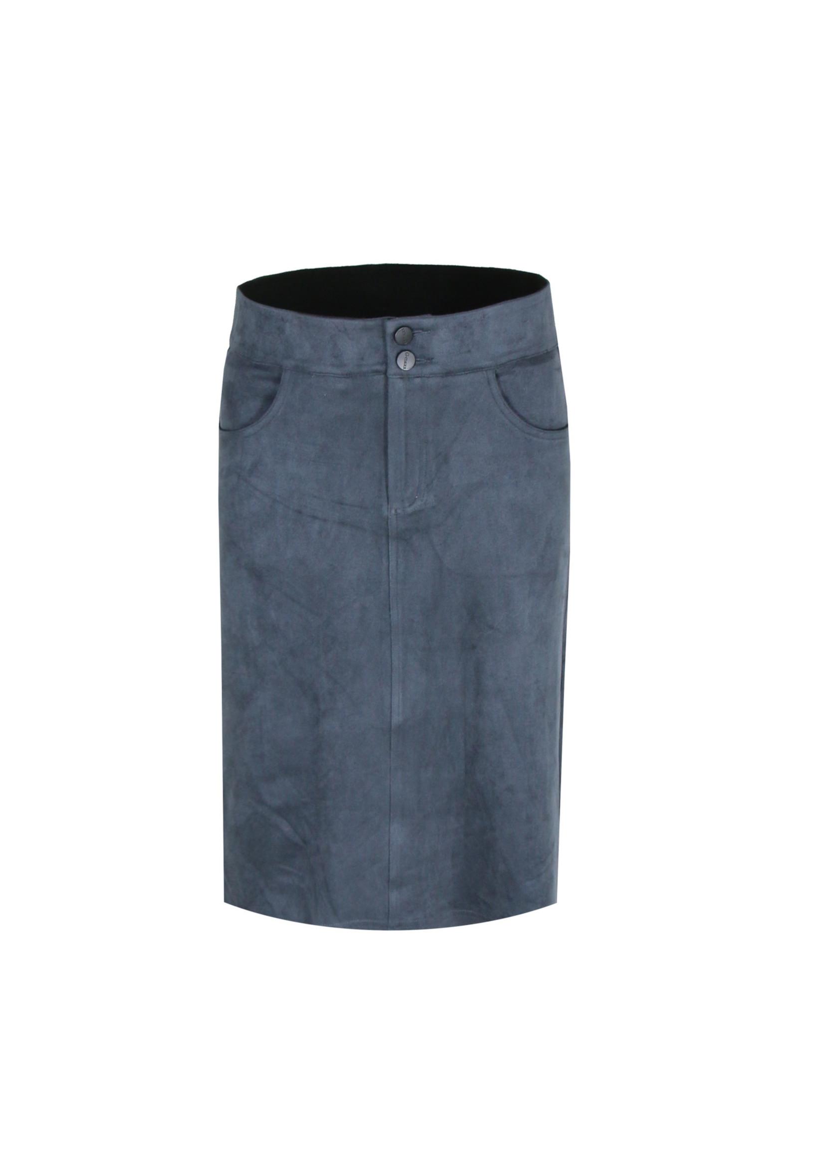 G-Maxx G-maxx - Kaat rok - Jeansblauw