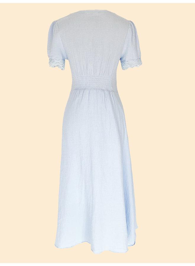 Robe Rose - Bleu