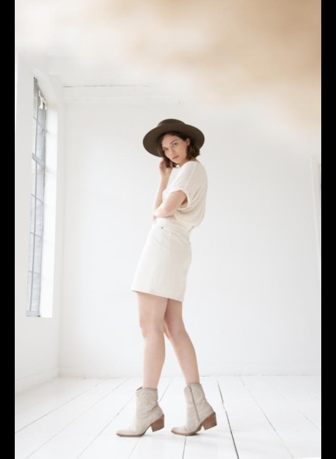Kuyichi Dani Skirt - Off White