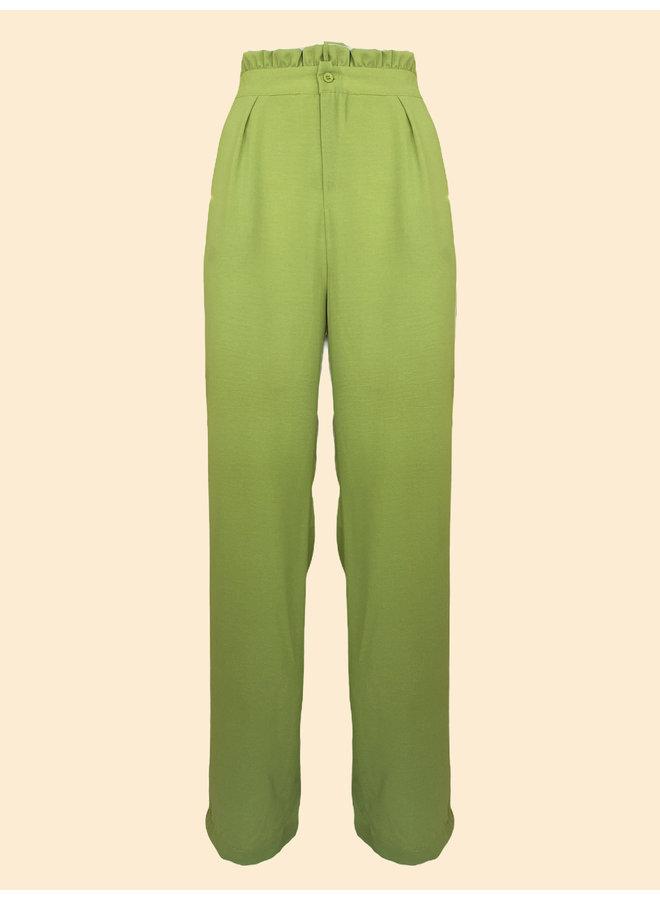Pantalon Poppy - Vert