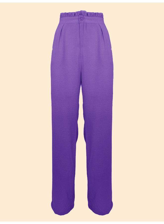 Pantalon Poppy - Violet
