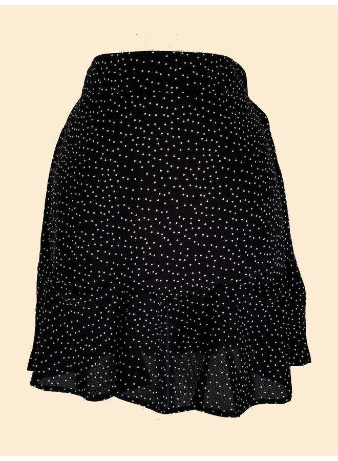 Jupe Dots - Noir et Blanc