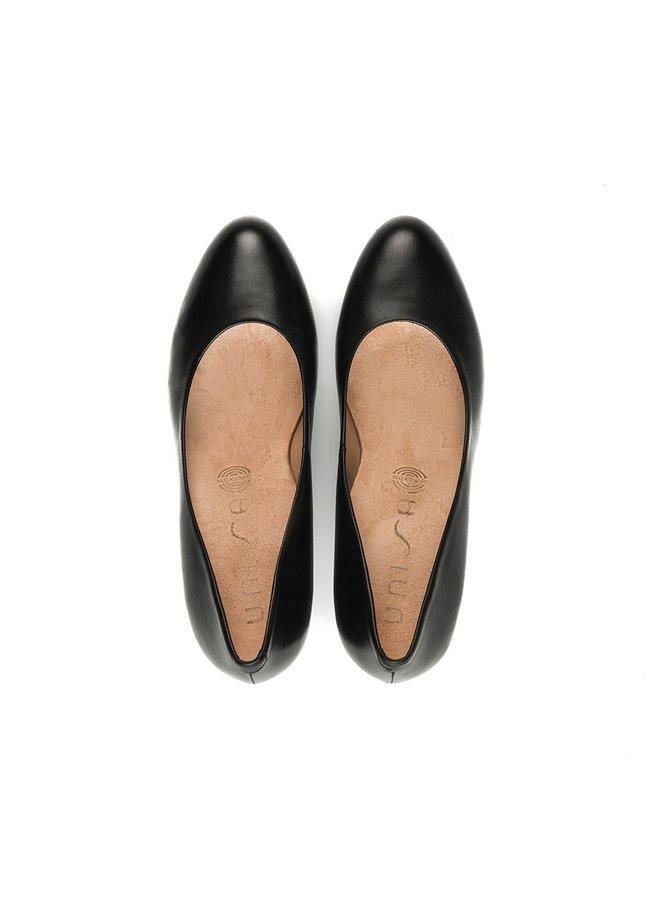 Unisa Maris Pump - Leather Black