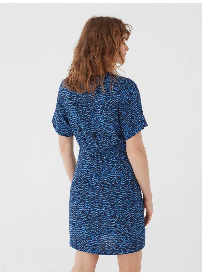 Nice Things Waves Print Dress