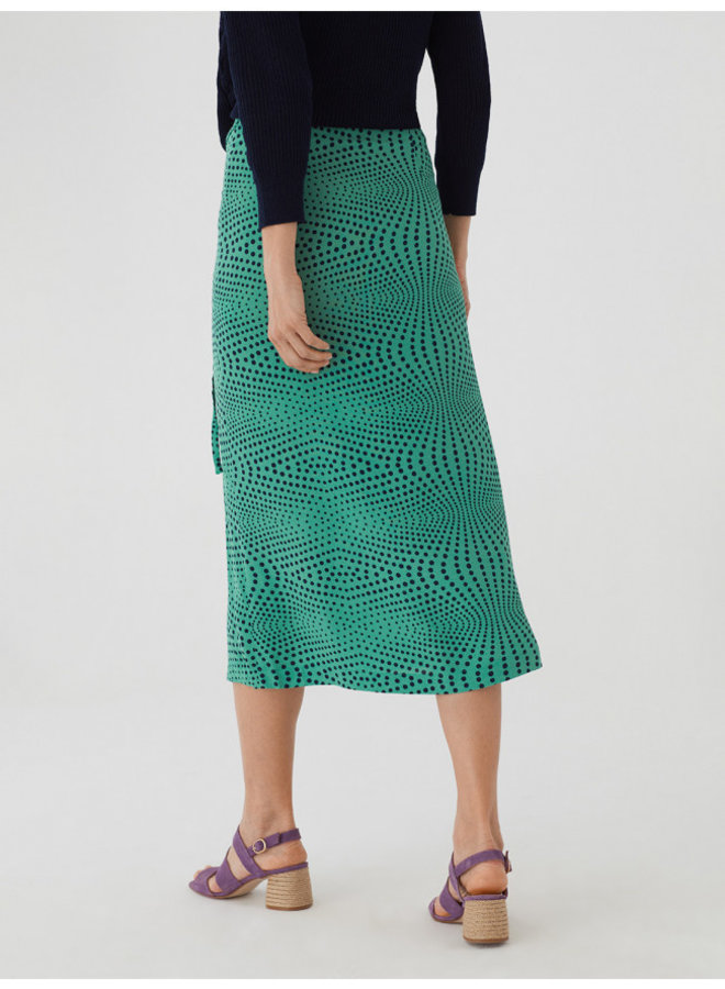 Nice Things Falda Op Dot Print Skirt