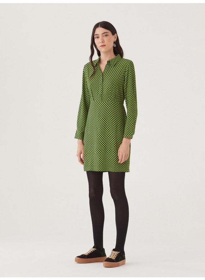 "Nice Things Vestido ""Checkerboard Print"" Dress"