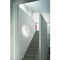 Dimbare wand-plafondlamp Puzzle Double Square met geïntegreerde LED