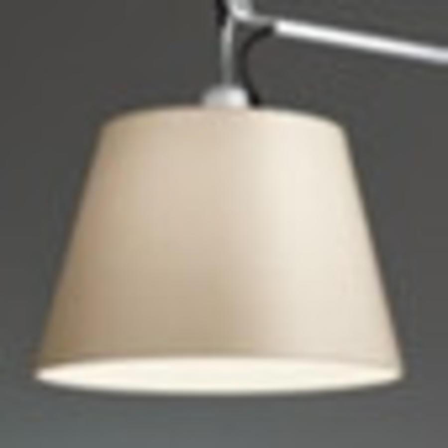 Dimbare vloerlamp Tolomeo Mega Terra met geïntegreerde LED - Zwart