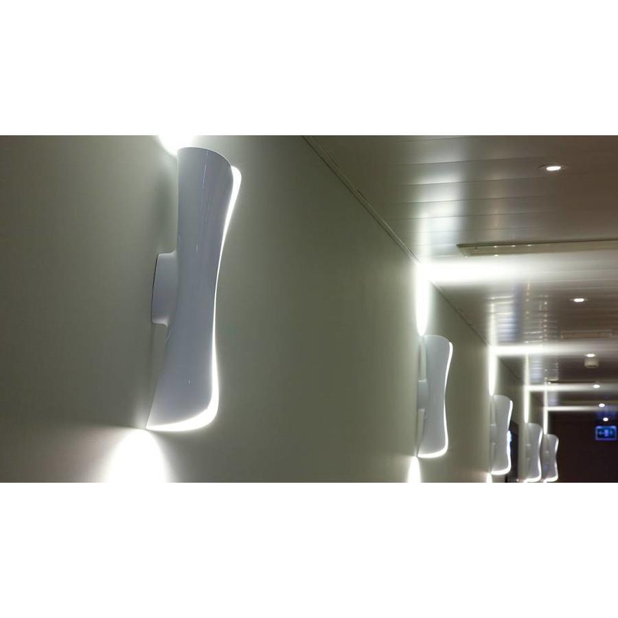Dimbare wandlamp Cadmo met LED lichtbronnen