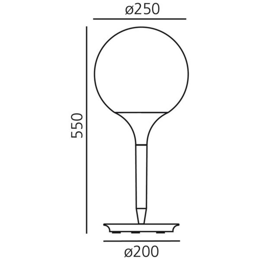 Dimbare tafellamp Castore 25