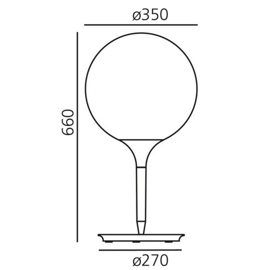 Tafellamp Castore 35