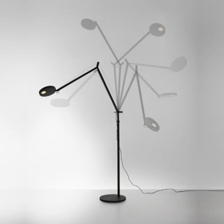 Dimbare vloerlamp Demetra met geïntegreerde LED