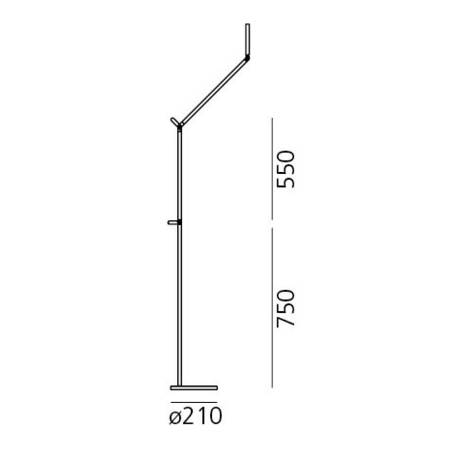 Vloerlamp Demetra LED