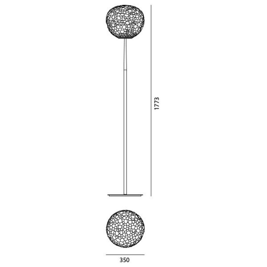 Dimbare Vloerlamp Meteorite 35
