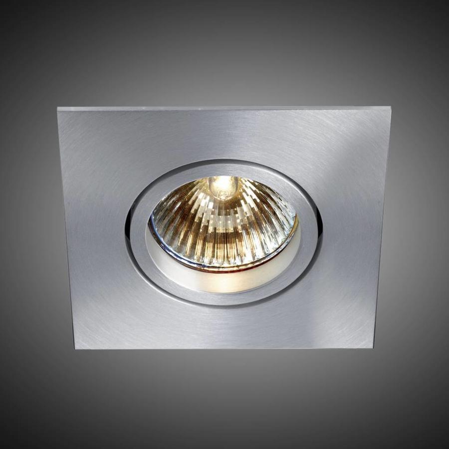 Vierkante inbouwspot Pro 3 met een GU10-fitting (230 V)
