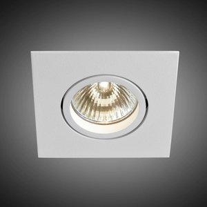 B lighted Vierkante inbouwspot Pro 3 met een GU10-fitting (230 V)