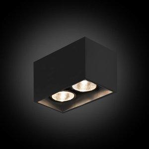B lighted 2-lichts opbouwspot Pure 2/75 - 230 V
