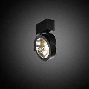 B lighted 1-lichts opbouwspot Zoom 1