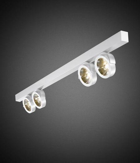 Zoom 4-lichts Balk