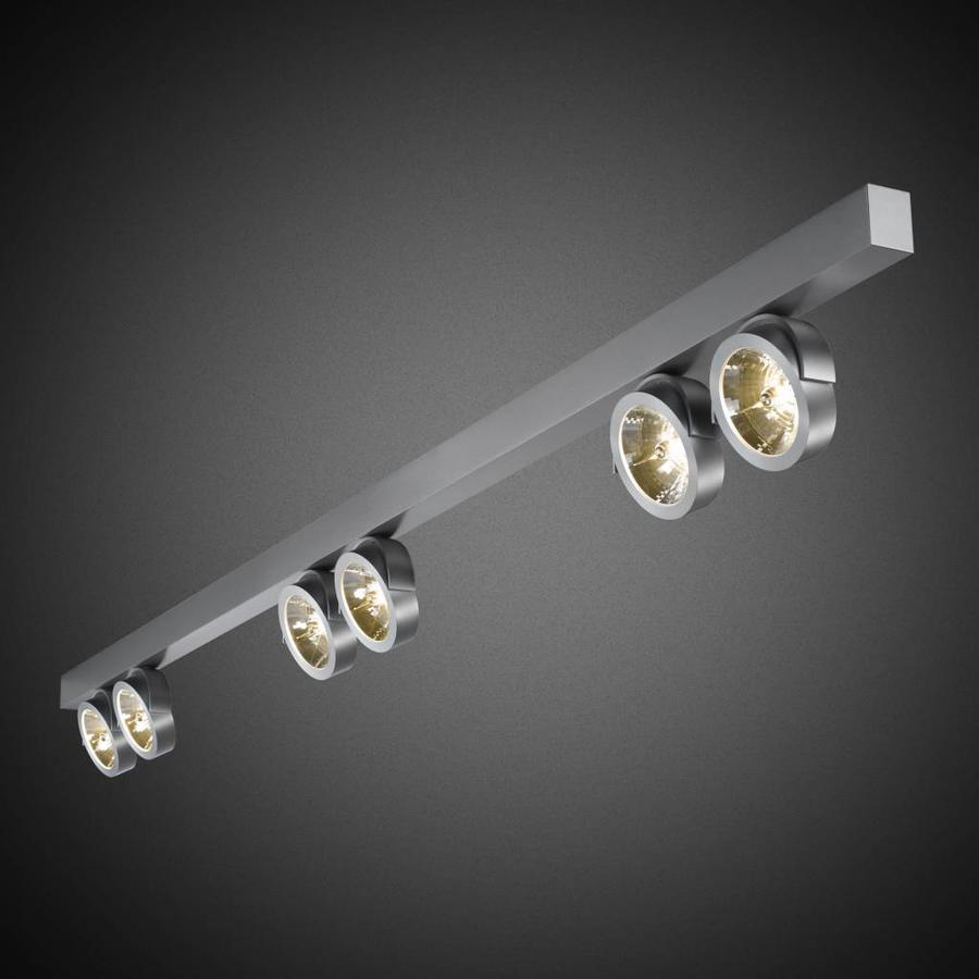 6-lichts Opbouwspot Zoom 6L