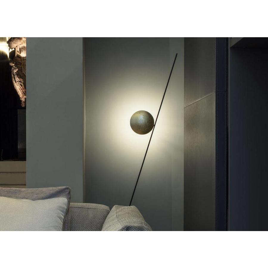 Dimbare Vloerlamp Lederam F1 met geïntegreerde LED