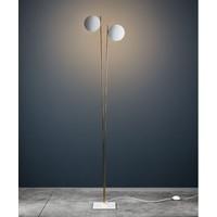 Dimbare Vloerlamp Lederam F2 met geïntegreerde LED