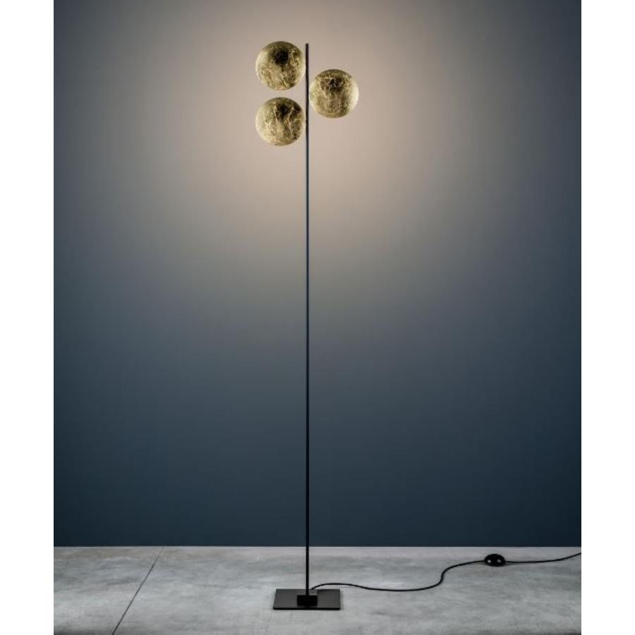Dimbare Vloerlamp Lederarm F3 met geïntegreerde LED