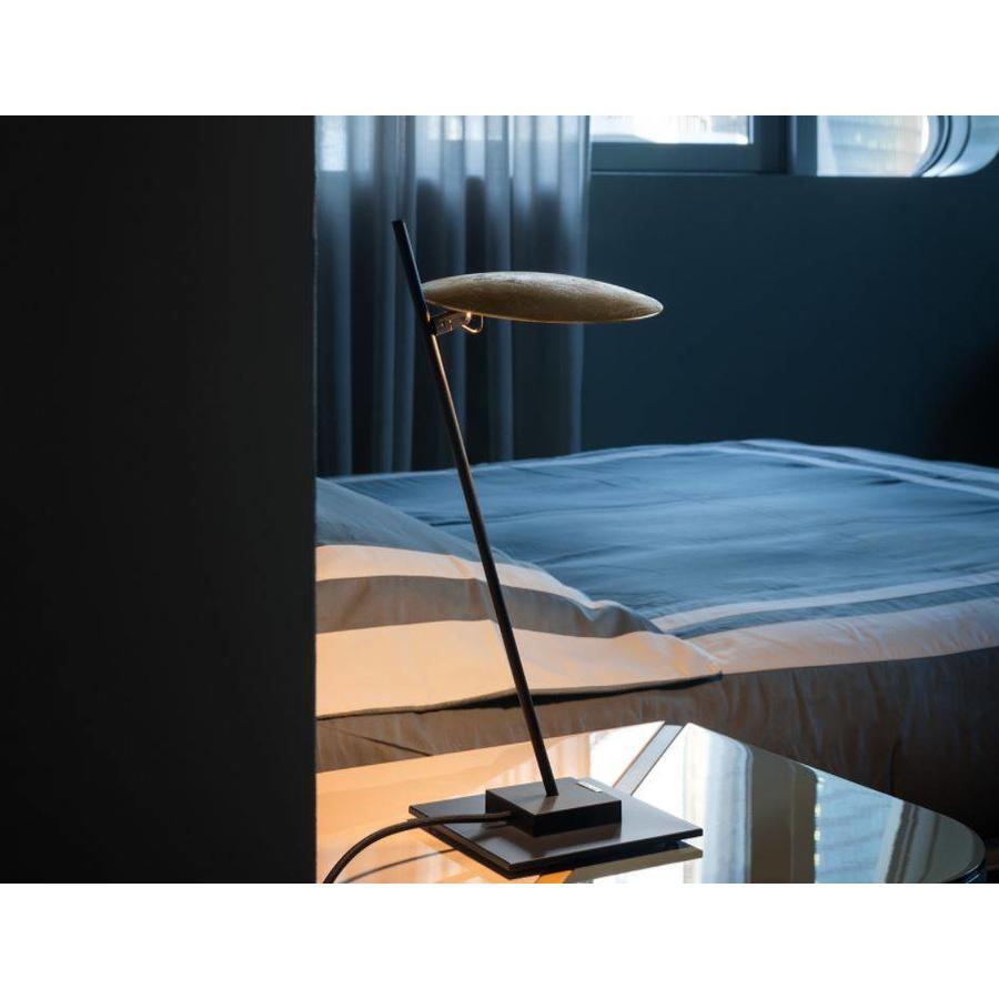 Dimbare Tafellamp Lederam T1 met geïntegreerde LED