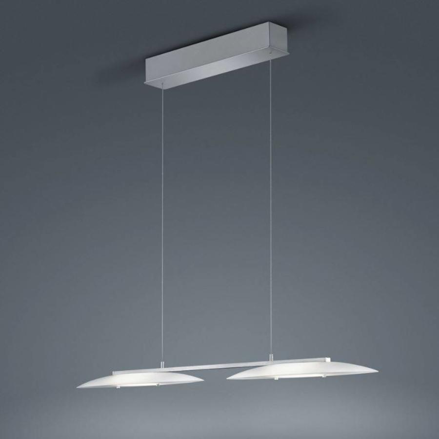 Dimbare en in hoogte verstelbare hanglamp Sally met geïntegreerde LED