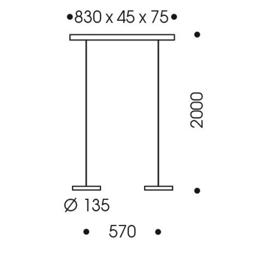 In hoogte verstelbare 2-lichts Hanglamp Decent