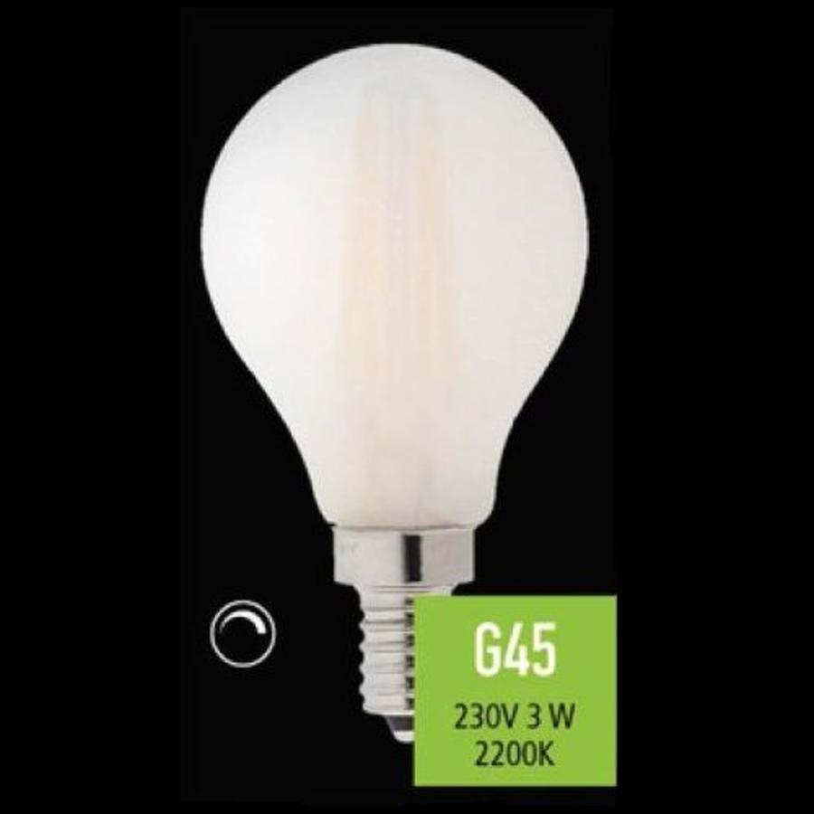 Dimbare LED lichtbron Filament E14 - 3 Watt