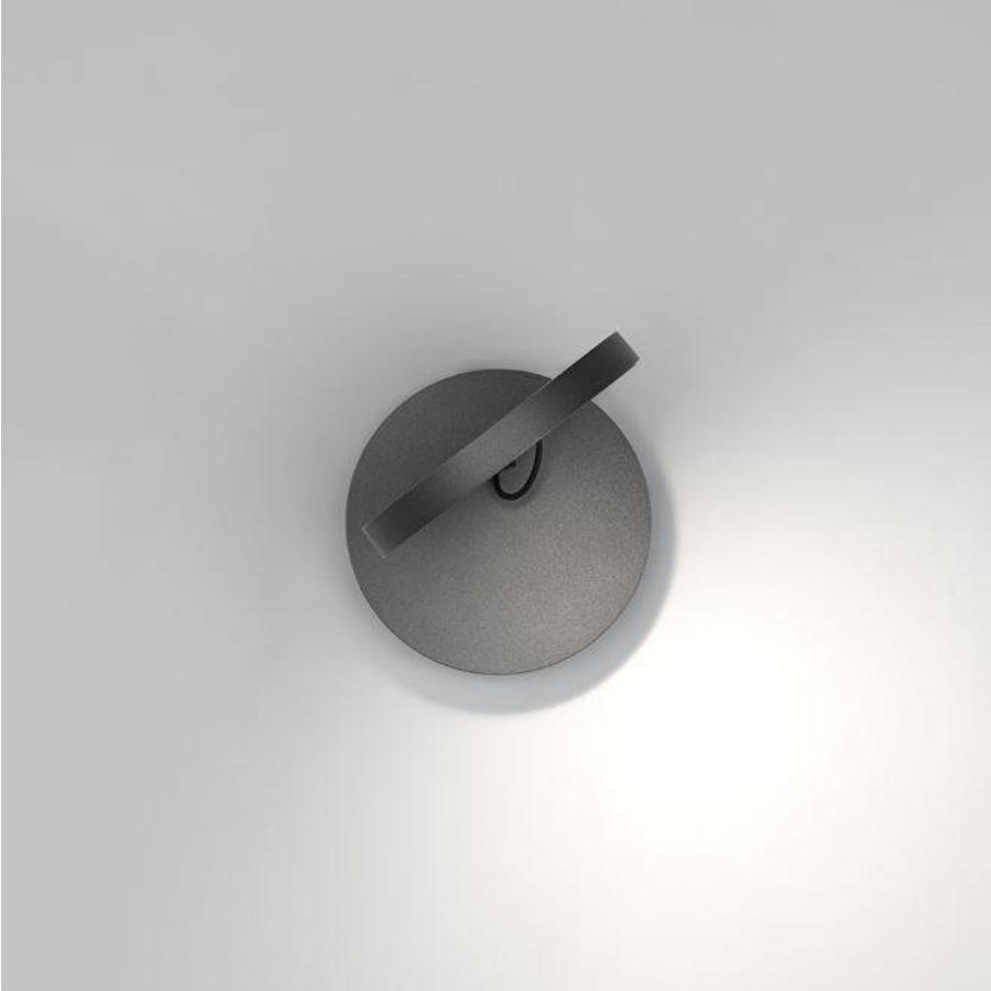 Dimbare wandlamp Demetra Faretto met geïntegreerde LED