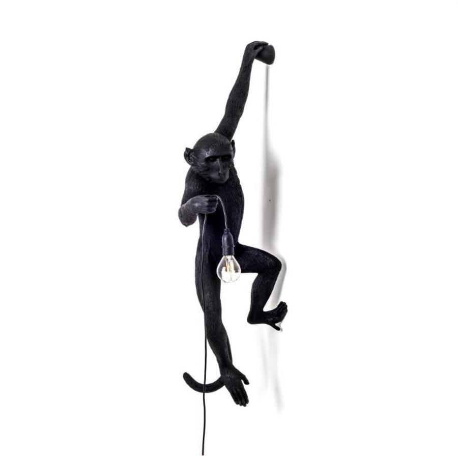 Wandlamp Monkey Lamp Hanging Zwart Indoor/Outdoor