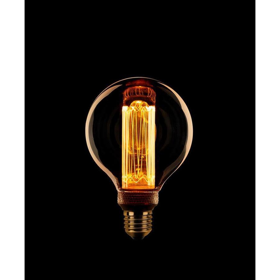 Dimbare LED lichtbron Kooldraad Globe 80 mm E27 - maximaal 3,5 Watt (13 Watt)