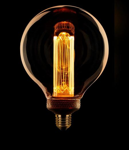 LED E27 G125 dimbaar