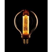 Dimbare LED lichtbron Kooldraad Globe 125 mm E27 - maximaal 3,5 Watt (13 Watt)