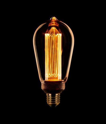 LED E27 Edison ST64 dimbaar