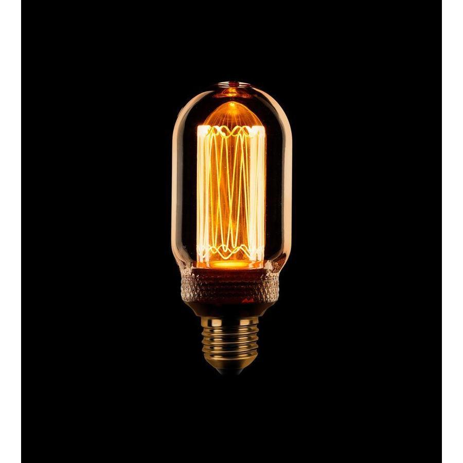 Dimbare LED lichtbron Kooldraad Buislamp T45 E27 - maximaal 3,5 Watt (13 Watt)