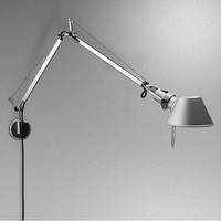 Dimbare Wandlamp Tolomeo Mini met geïntegreerde LED