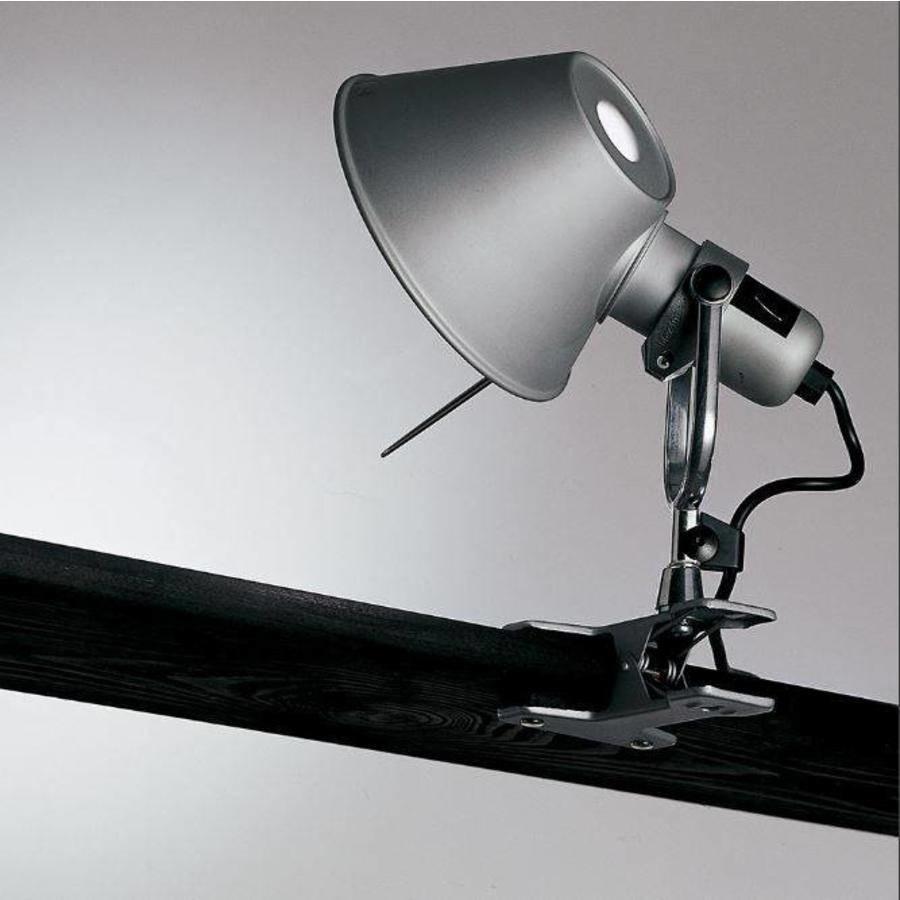 Dimbare klemlamp Tolomeo Pinza Parete met geïntegreerde LED