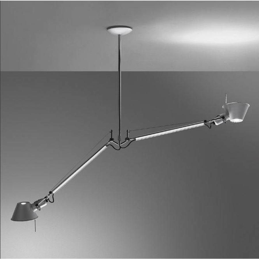 Hanglamp Tolomeo Due Bracci Sospensione