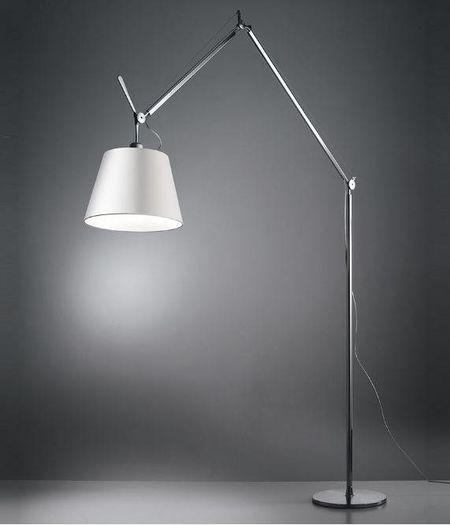 Tolomeo Mega Terra LED - Aluminium