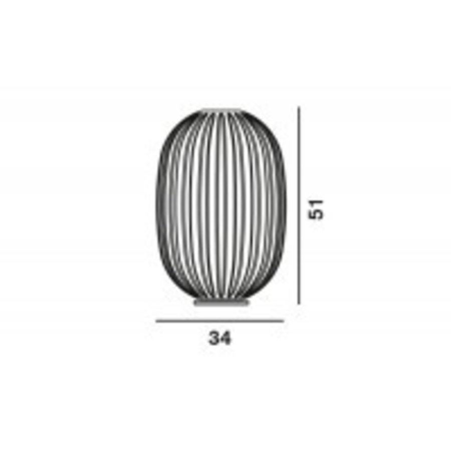 Tafellamp Plass Medium met een aan-uitschakelaar