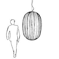 Hanglamp Plass Large met geïntegreerde LED