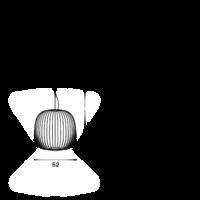 Hanglamp Spokes 2 met geïntegreerde LED