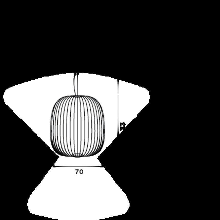 Dimbare Hanglamp Spokes 2 Large met geïntegreerde LED